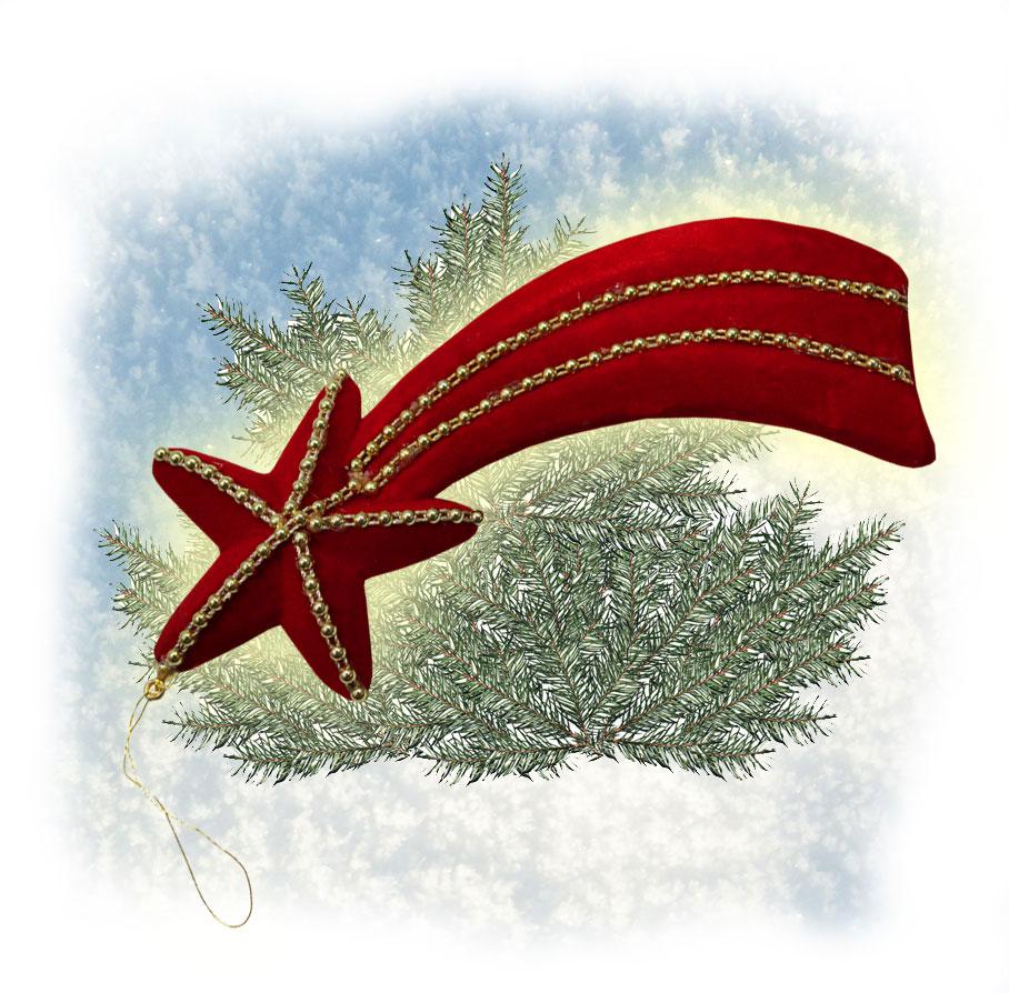 posten 10 weihnachtsterne sternschnuppen rot 18 cm neu hh. Black Bedroom Furniture Sets. Home Design Ideas