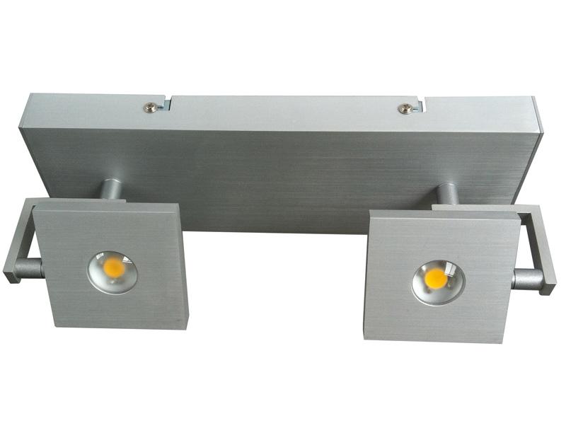 Led lampe deckenlampe strahler 900 lumen 2 strahler for Deckenlampe led strahler