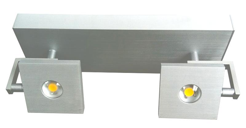 Deckenleuchte led deckenlampe strahler spot high power cob for Deckenlampe 2 strahler